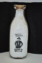 1950's Kuhl Dairy Hopalong Milk