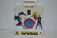 Vintage 1976 DC Supercase 45's