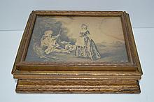 Victorian Wood Jewelry Box