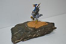 Flying Monkey Warrior Sculpture