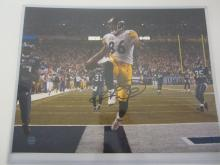 Hines Ward Pittsburgh Steelers signed autographed 11x14 Photo Certified Coa