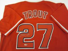 Mike Trout L.A. Angels signed autographed Jersey Certified Coa