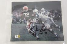 Jim Brown Clevelan Browns signed autographed 8x10 Photo Certified Coa