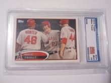2012 Topps Mike Trout #446 Los Angeles Angels Graded Gem Mint 10