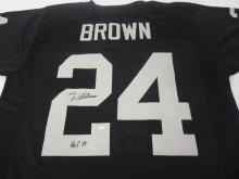 Willie Brown Oakland Raiders signed autographed Jersey Certified COA