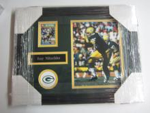 Ray Nitschke Green Bay Packers signed autographed Framed Sports Card Certified Coa