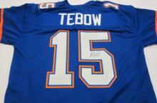 Tim Tebow Florida Gators signed autographed football jersey Certified COA