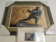 Heisman Trophy Signed Display