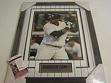 Robinson Cano Signed Display
