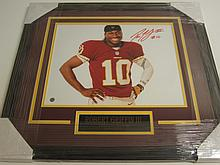 Robert Griffin III Signed Display