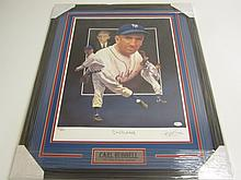 Carl Hubbell Signed Lithograph