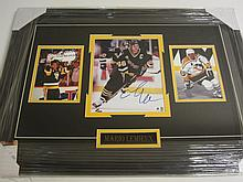 Mario Lemieux Signed Display