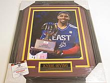 Kyrie Irving Signed Display