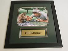 Bill Murray Signed Display