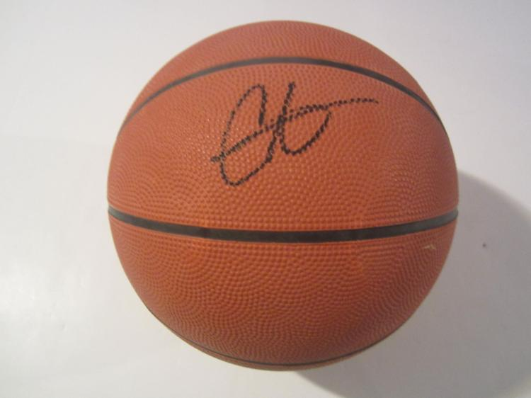 Carmelo Anthony New York Knicks signed autographed Basketball Certified Coa