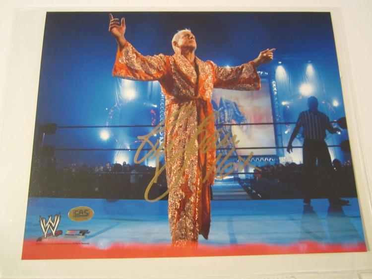 Ric Flair WWE signed autographed 8x10 Photo CAS COA