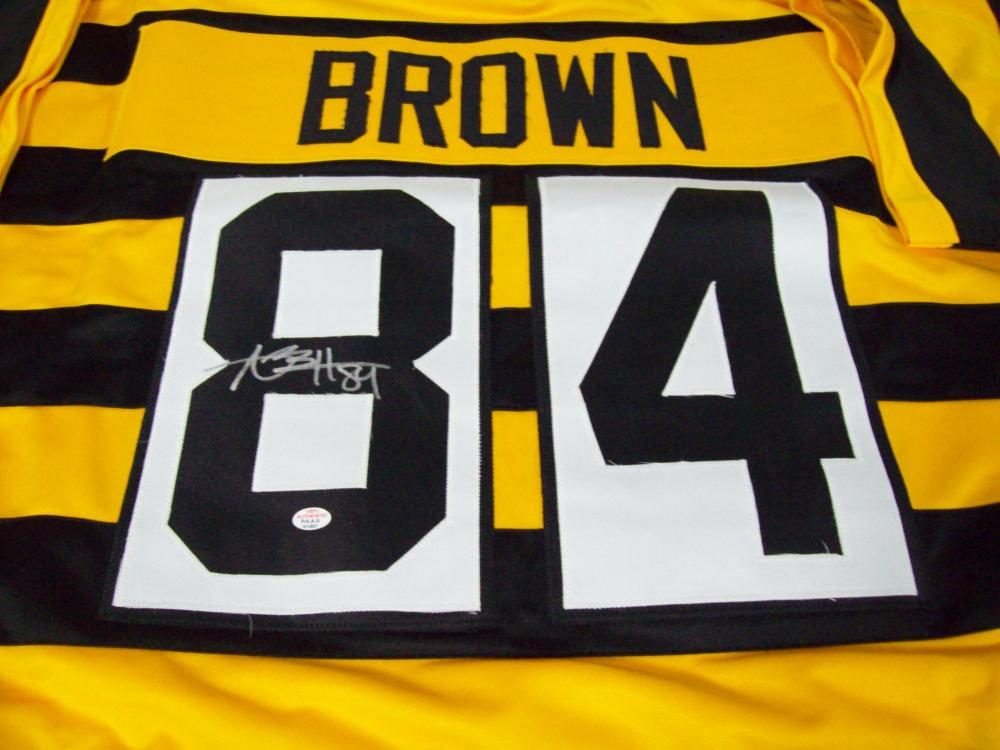 size 40 d95c8 b2a13 Antonio Brown Pittsburgh Steelers Signed Autographed ...