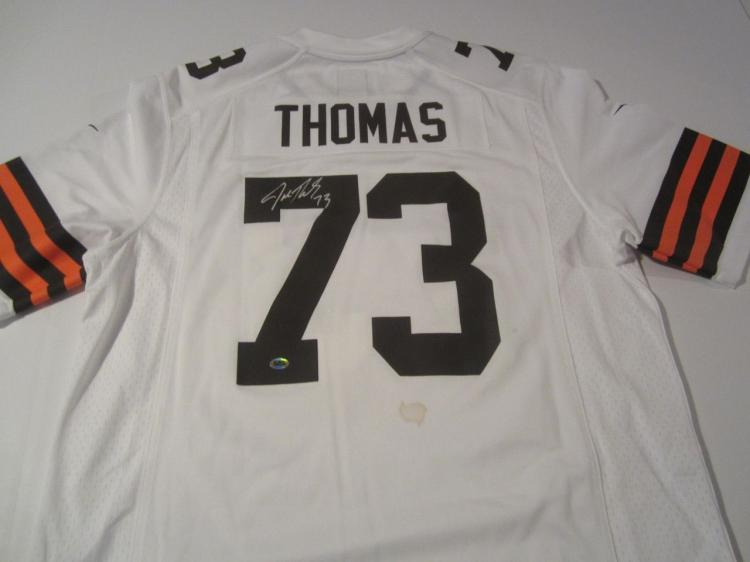 buy online 8c071 12f60 Joe Thomas Cleveland Browns Hand Signed Autographed Jersey ...