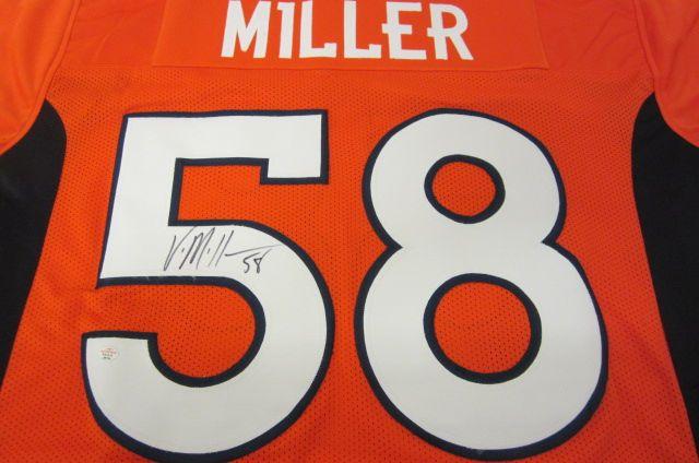 new product 0b5c8 d21fe Von Miller Denver Broncos signed autographed jersey PAAS Coa