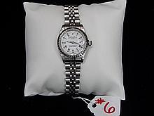 Ladies Rolex, White dial with roman numerals