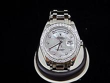 Mens Rolex Oyster Perpetual Day-Date