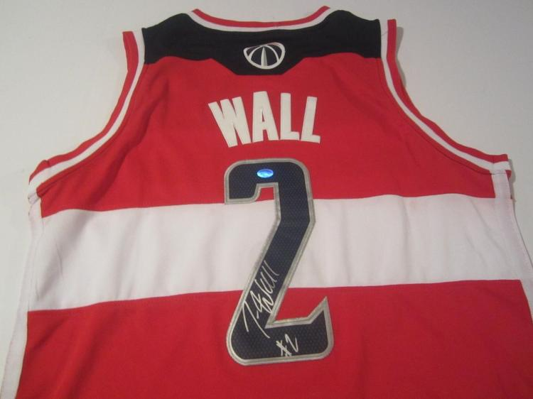huge selection of 64951 3dcc2 get john wall autographed jersey b9a3e c809d