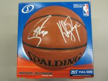 the latest bcbe5 e6ccd Stephen Curry Klay Thompson Golden State Warriors signed ...