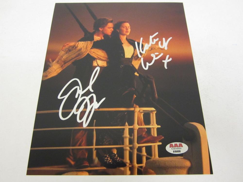 Kate Winslet signed authentic 8x10 photo COA