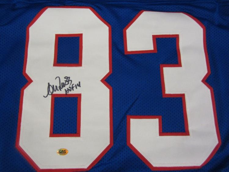 size 40 8befb c5943 Andre Reed Buffalo Bills Hand Signed Autographed Jersey CAS ...