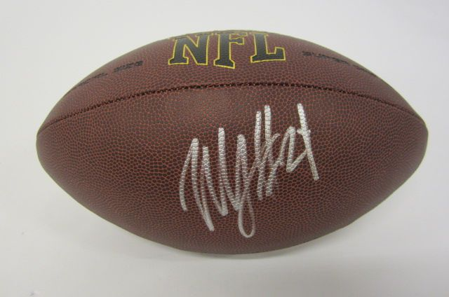 more photos a197e 3fc60 Marshawn Lynch Oakland Raiders signed autographed Football ...