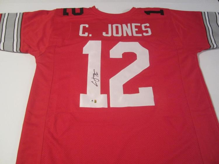 first rate 60dd0 099ef Cardale Jones Ohio State Buckeyes signed autographed ...
