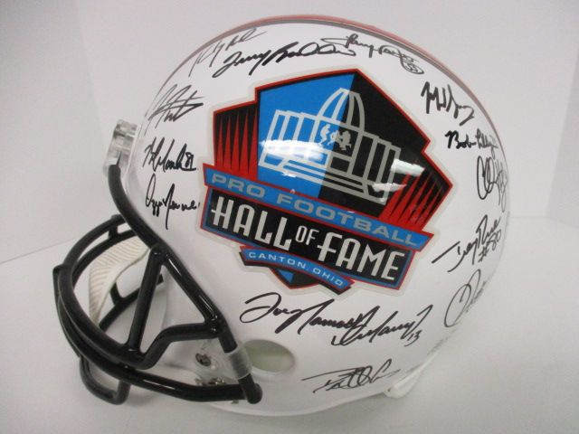 Jim Brown Joe Montana multi signed autographed NFL Hall of