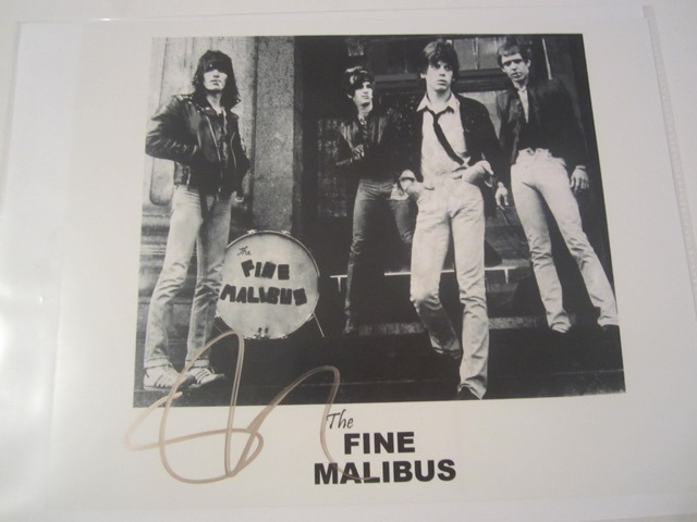 Steve Stevens The Fine Malibus Hand Signed Autographed Promo 8x10 Photo COA