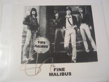 Steve Stevens The Fine Malibus Hand Signed Autographed Promo 8x10 Photo COA