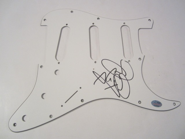 Tyson Ritter Hand Signed Autographed Pick Guard COA