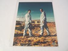 Bryan Cranston/AAron Paul Breaking Bad Hand Signed Autographed 8x10 Photo COA