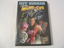"Jeff Dunham  ""Minding the Monsters"" Hand Signed Autographed DVD Cover COA"