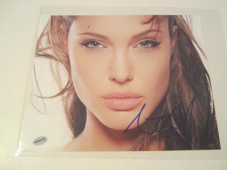 Angelina Jolie Hand Signed Autographed 8x10 Photo COA