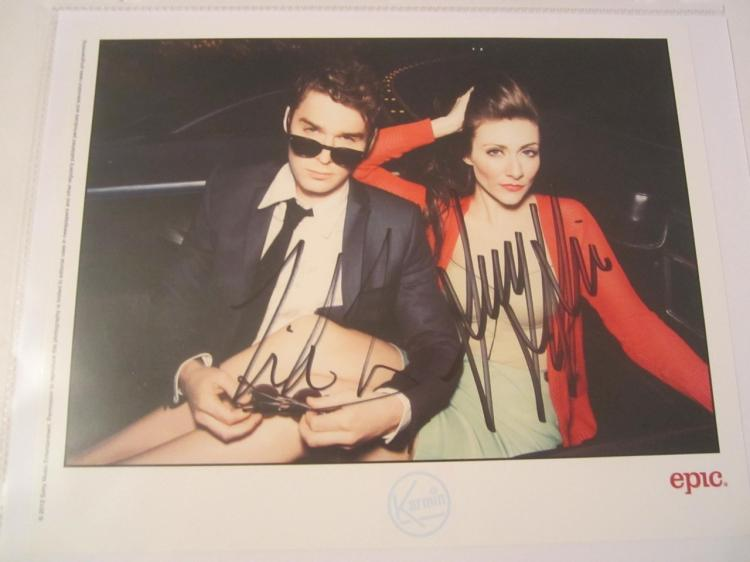 Karmin Hand Signed Autographed 8x10 Photo COA