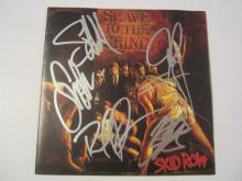 Skid Row Slave To The Grind CD Booklet Authenticated Inc COA