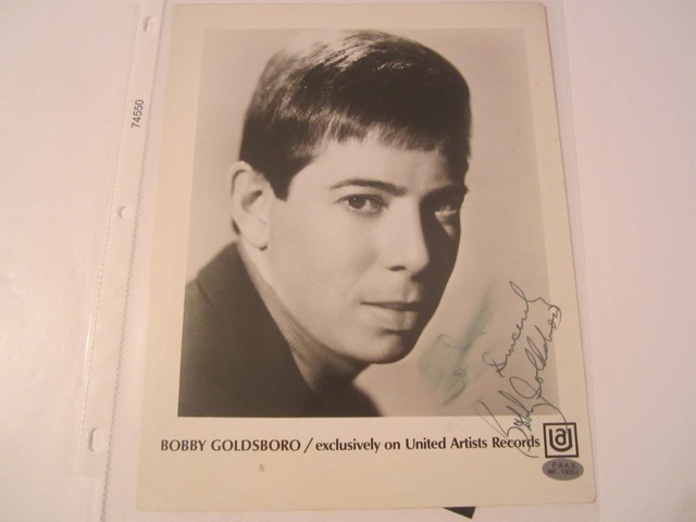 Bobby Goldsboro Hand Signed Autographed Promo 8x10 Photo COA