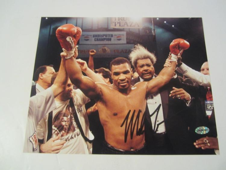 Mike Tyson Hand Signed Autographed 8x10 Photo COA
