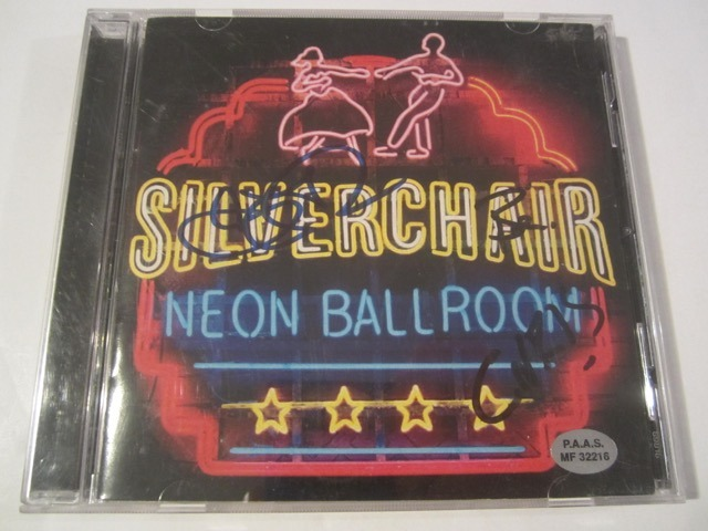 Silverchair Neon Ballroom Hand Signed Autographed CD Booklet COA