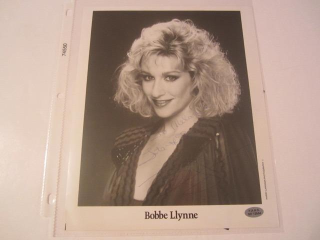 Bobbe Llynne Hand Signed Autographed Promo 8x10 Photo COA