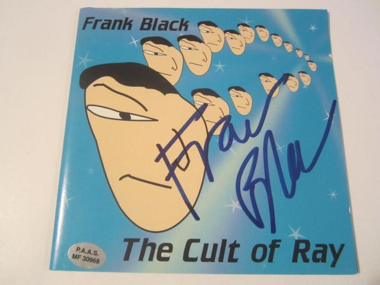 "Frank Black ""Cult of Ray"" Hand Signed Autographed CD Cover COA"