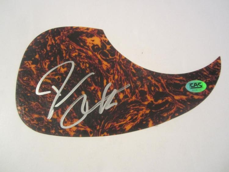 Darius Rucker Hand Signed Autographed Pick Guard COA