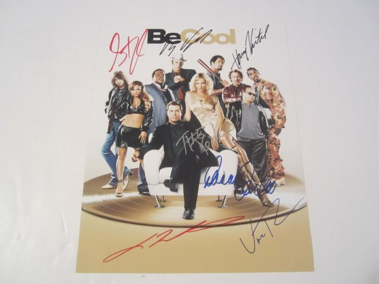 Be Cool Cast Hand Signed Autographed 8x10 Photo COA