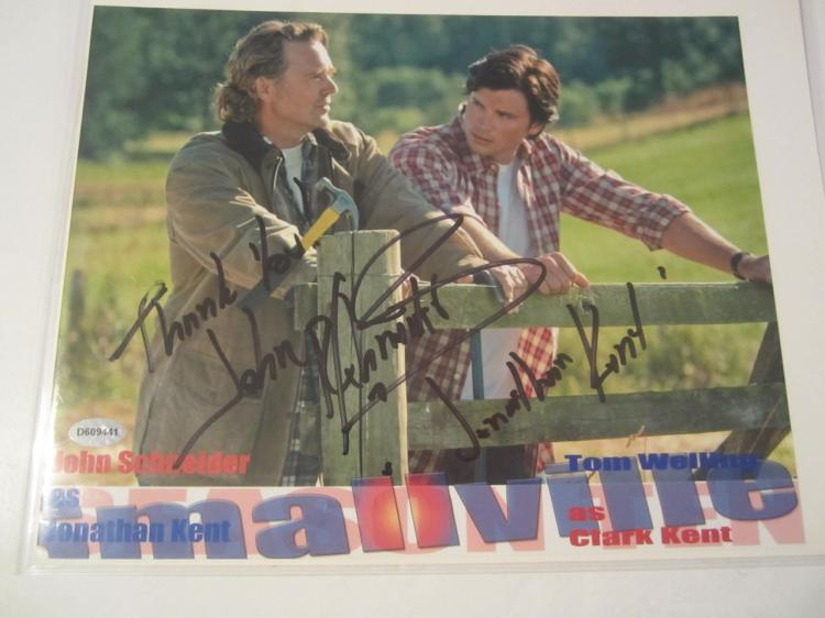 "John Schneider ""Smallville"" Hand Signed Autographed 8x10 Photo COA"
