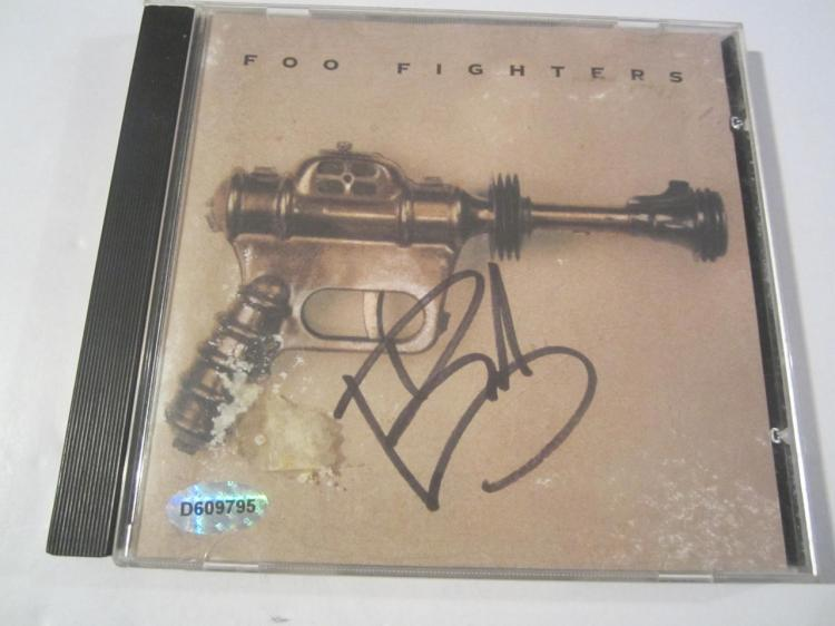 Foo Fighters Hand Signed Autographed CD Cover COA