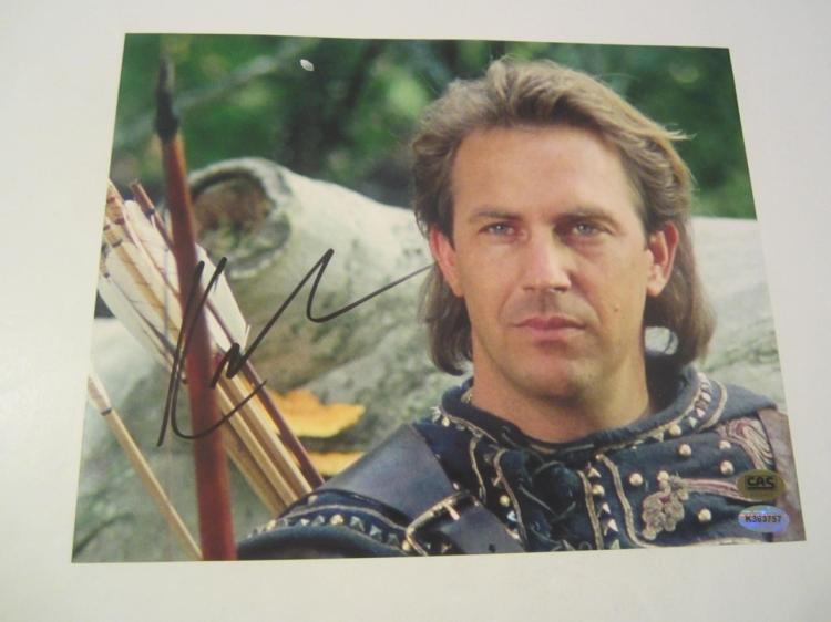 Kevin Costner Hand Signed Autographed 8x10 Photo COA